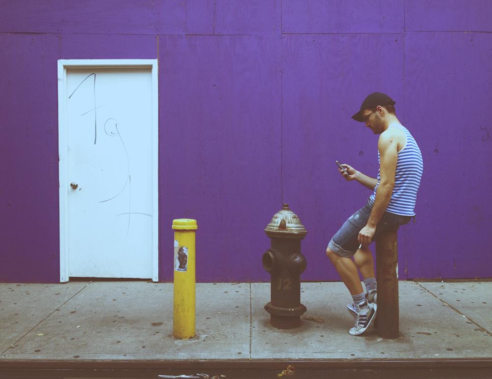 Gertz Purple Wall