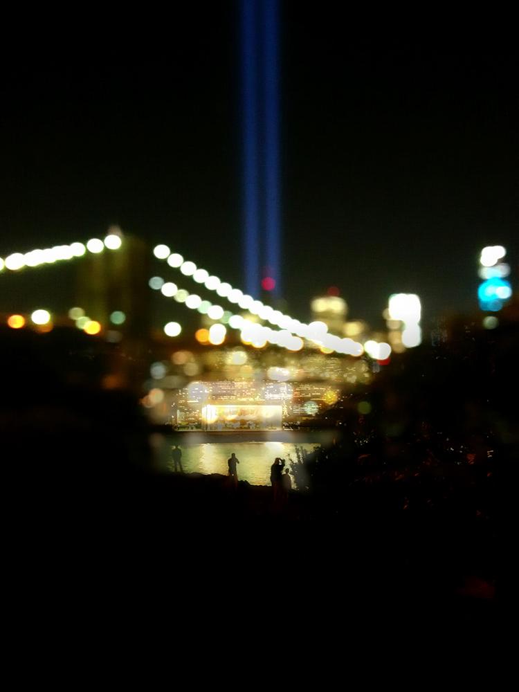 Gertz Tribute In Light 911